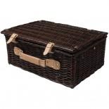 Kosz piknikowy, kolor brązowy 6233601