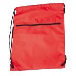 Nylonowy worek sportowy, kolor czerwony 6237105