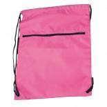 Nylonowy worek sportowy, kolor różowy 6237111