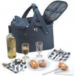 Praktyczna torba piknikowa, kolor granatowy 6333744