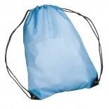 Nylonowy worek sportowy, np  na buty, kolor niebieski 6433004