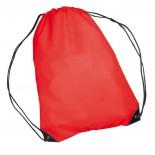 Nylonowy worek sportowy, np  na buty, kolor czerwony 6433005