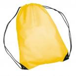 Nylonowy worek sportowy, np  na buty, kolor żółty 6433008