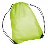 Nylonowy worek sportowy, np  na buty, kolor zielony 6433009