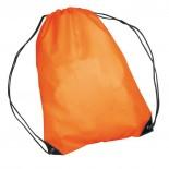 Nylonowy worek sportowy, np  na buty, kolor pomarańczowy 6433010