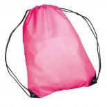 Nylonowy worek sportowy, np  na buty, kolor różowy 6433011