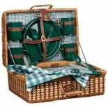 Kosz piknikowy, kolor brązowy 6660401