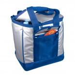 Nylonowa torba termiczna, kolor niebieski 6707404