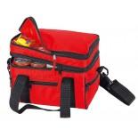 Dwupoziomowa torba - lodówka, kolor czerwony 6710305
