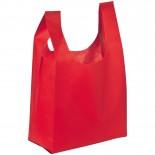 Torba na zakupy non-woven, kolor czerwony 6874805