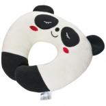 Poduszka podróżna  dla dzieci  z motywem pandy, kolor beżowy 6890013
