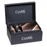 CrisMa Krawat, kolor brązowy 7029401