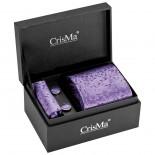 CrisMa Krawat, kolor fioletowy 7794912