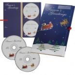Kolekcja 2 płyt CD, kolor niebieski 8751904