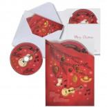 Płyta CD, kolor czerwony 8774005