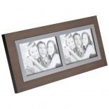 Drewniana ramka na zdjęcia, kolor brązowy 8786101