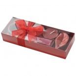 Zestaw świeczek zapachowych, kolor czerwony 8858605