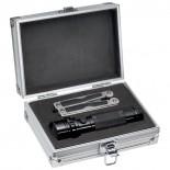 Zestaw narzędzi - latarka oraz przyrząd wielofunkcyjny, kolor szary 8892107