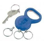 Brelok-otwieracz do butelek, kolor niebieski 9228604