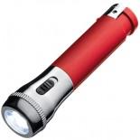Zapalniczka z latarką LED, kolor czerwony 9825905