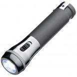 Zapalniczka z latarką LED, kolor szary 9825977