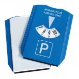 Parkometr ze skrobaczką do szyb, kolor niebieski 9901104