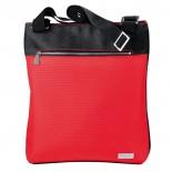 Torba na ramię, kolor czerwony F10705
