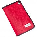 Etui na wizytówki, kolor czerwony F11205