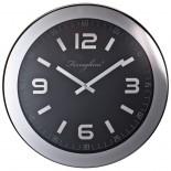 Zegar ścienny, kolor czarny F18503