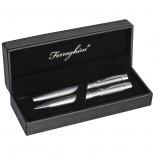 Ferraghini Srebrny zestaw piśmienny, kolor szary F19107