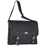 Modna torba na laptopa, kolor czarny F21303