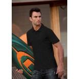 Koszulka męska polo, kolor czarny MPS17003-XL