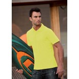 Koszulka męska polo, kolor żółty MPS17008-XXL