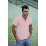 Koszulka męska polo, kolor jasno różowy MPS20031-M