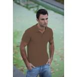Koszulka męska polo, kolor brązowy MPS21001-L