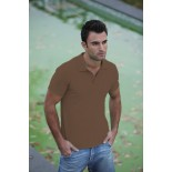 Koszulka męska polo, kolor brązowy MPS21001-XL