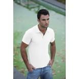 Koszulka męska polo, kolor biały MPS21006-M