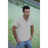 Koszulka męska polo, kolor ash MPS21076-L