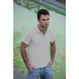 Koszulka męska polo, kolor ash MPS21076-XL
