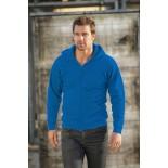Bluza męska rozpinana z kapturem, kolor royal blue SWZ28084-XL