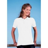 Koszulka damska polo, kolor biały WPS17006-M