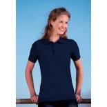 Koszulka damska polo, kolor ciemno granatowy WPS17036-S