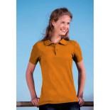Koszulka damska polo, kolor ciemno pomarańczowy WPS17051-S