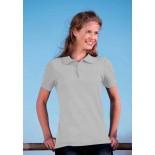 Koszulka damska polo, kolor ash WPS17076-M