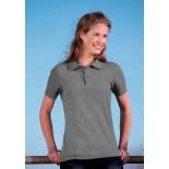 Koszulka damska polo, kolor ciemno szary WPS17077-M