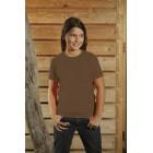 << T-Shirt dziecięcy z krótkim rękawem, kolor brązowy YC15001-XL