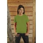 T-Shirt dziecięcy z krótkim rękawem, kolor moss YC16039-XL