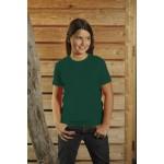 T-Shirt dziecięcy z krótkim rękawem, kolor ciemnozielony YC16069-XL